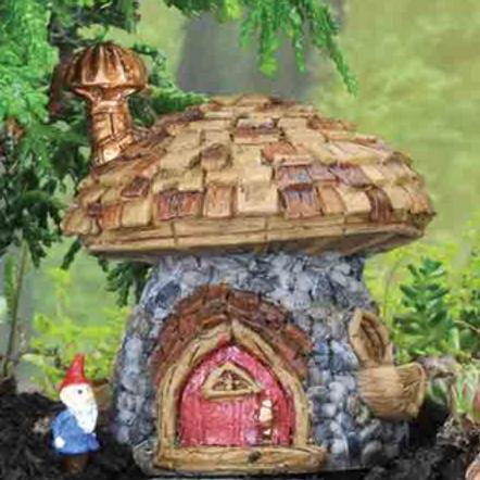 Fiddlehead Micro Mushroom Cottage