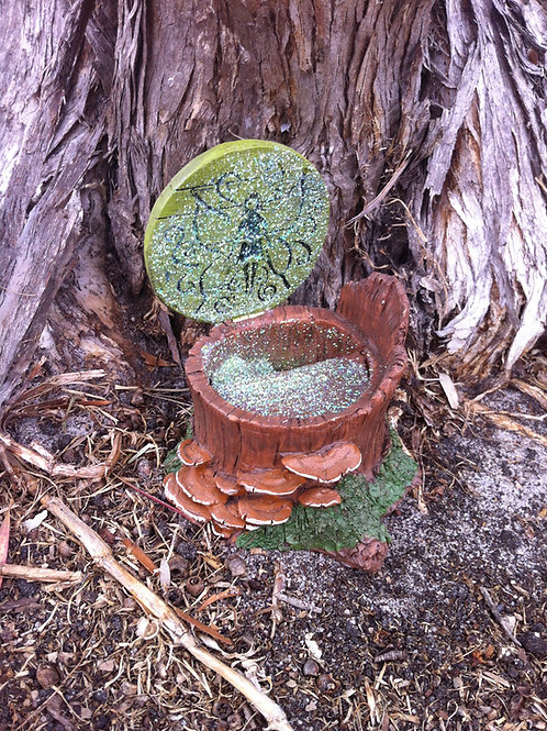 Fiddlehead Fairy Hatch with Opening Door
