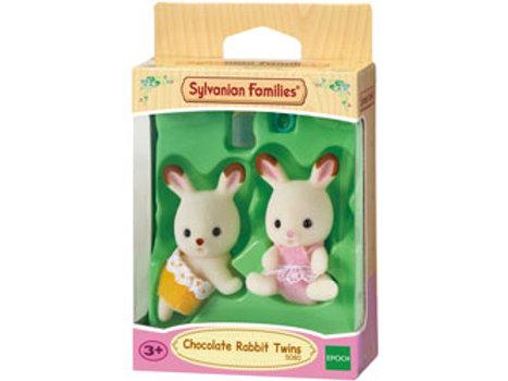Sylvanian Families - Chocolate Rabbit Twins