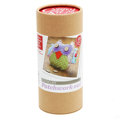 Crafty Kits - Patchwork Owl Sewing Kit