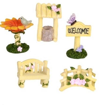 Fairy Friendship Fairy Garden Accessories Set