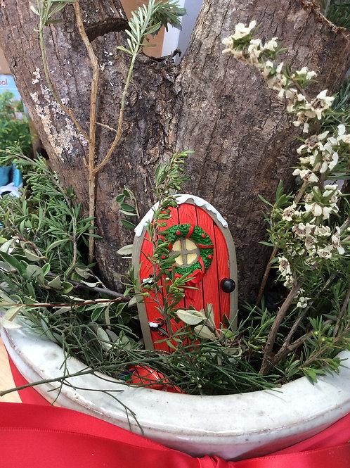 Santa magical fairy door gift set