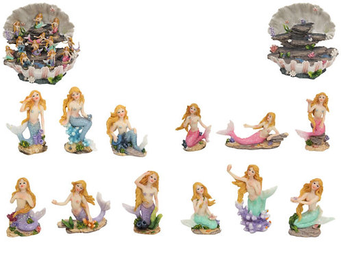 8cm mermaid figurines