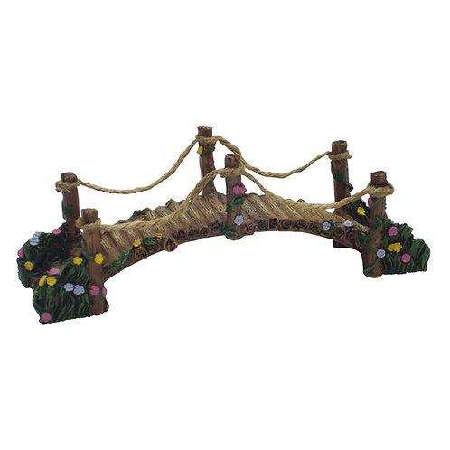 17cm woodland fairy bridge