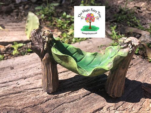 Fairy Garden Leaf Hammock