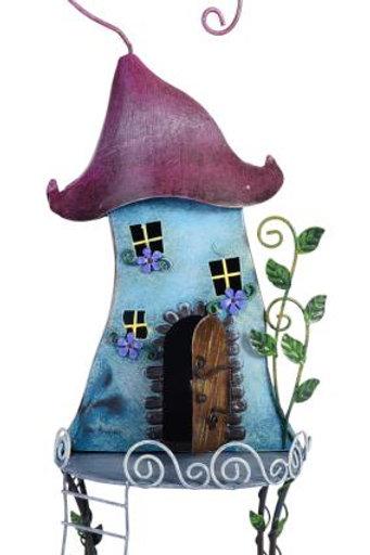 41cm Metal Fancy Fairy House