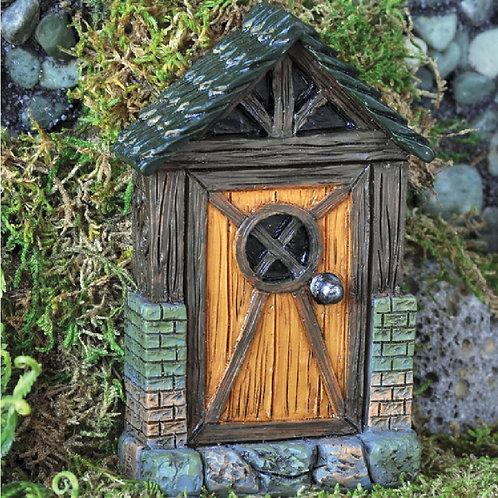 Fiddlehead cottage fairy door