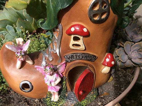 27cm Fairy Shoe House