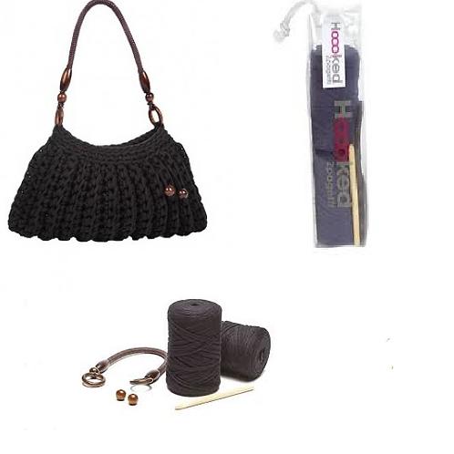 Hoooked Zpagetti Imperia Handbag Crochet Kit