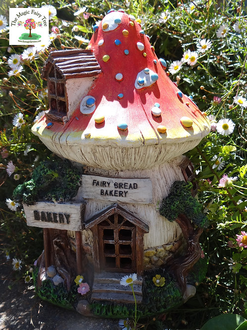 Solar powered Fairy Bakery Mushroom House