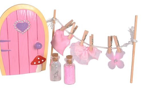 Fairy Friendship Door & Clothesline Accessories Gift Set