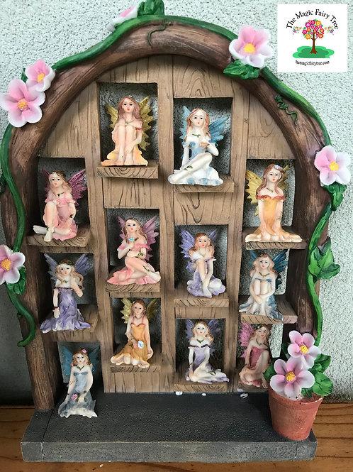 12 x 5cm flower fairy figurines
