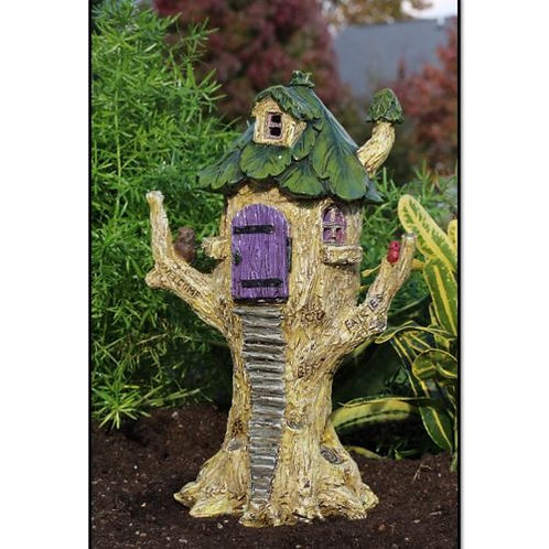 Whimsy Tree House with opening door