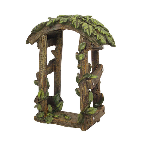 Fairy Garden Leaf Arch Arbour Arbor