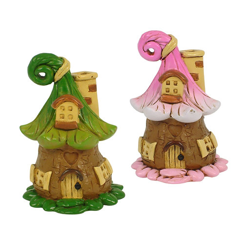 Miniature Seed Pod Fairy House