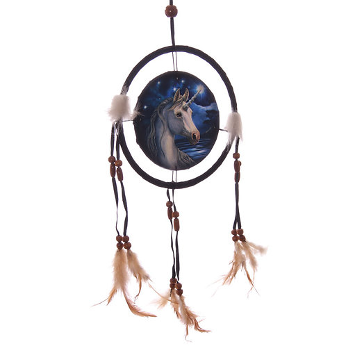 Lisa Parker unicorn design dreamcatcher