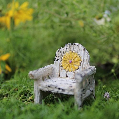 Itty Bitty Daisy Chair - micro fairy furniture