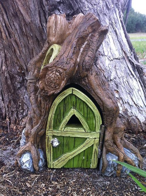 Fiddlehead Fairy Garden Root Foyer Opening Door