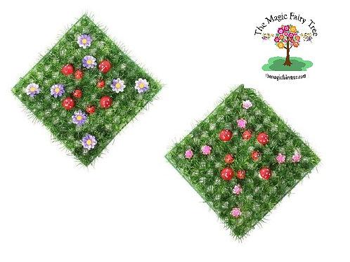 Fairy Garden Grass - 25cm x 25cm