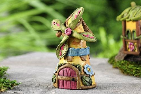 Mini World Fairytale Windmill Fairy House
