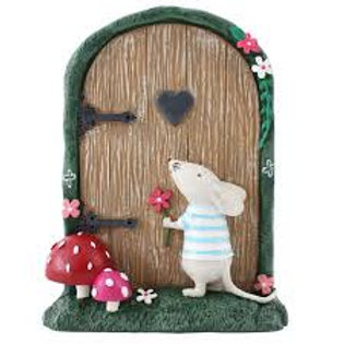 Marvin the Mouse Fairy Door - 11cm
