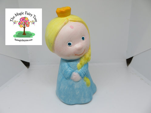 Ready to paint ceramic Elsa Frozen Ice Princess figurine