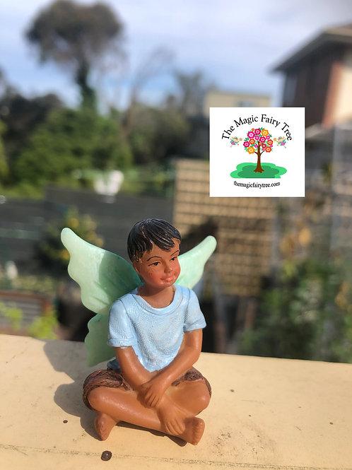Fairy Liam boy fairy figurine