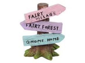 6cm fairy tree sign