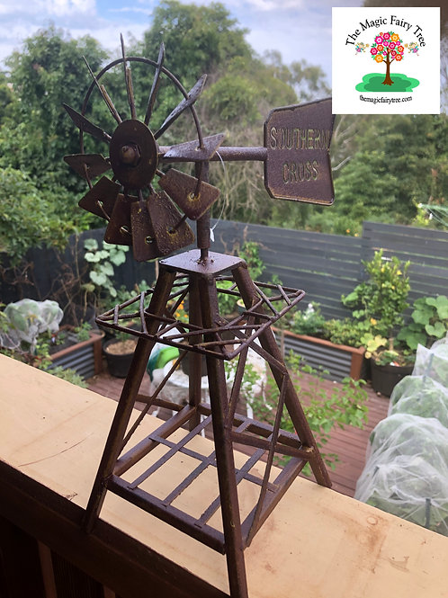 Rustic Miniature Windmill