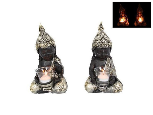 Buddha with tealight / candle holder