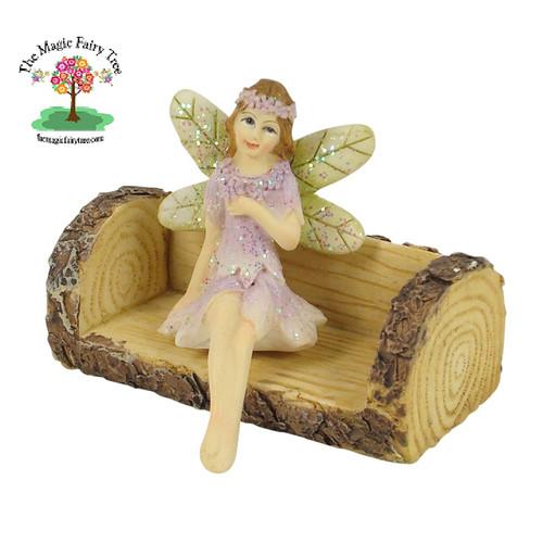 furniture fairy. fairy furniture - log bench