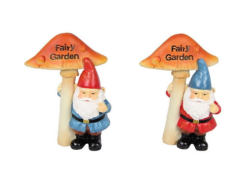 Fairy Garden Gnome Sign