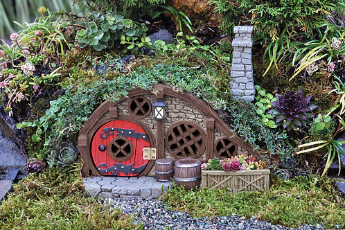 Fiddlehead Red Root Burrow Fairy House