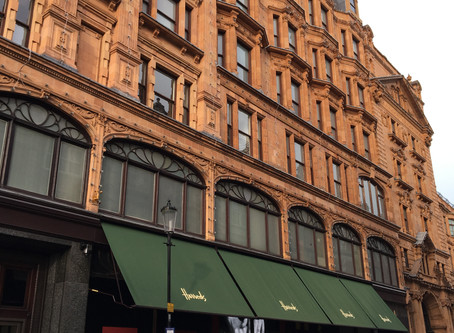 Tiendas Harrods y Selfridge en Londres