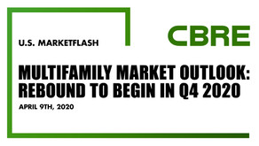 Multifamily Market Outlook: Rebound To Begin in Q4 2020