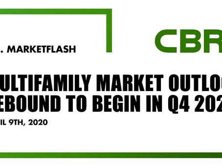Multifamily Market Outlook: Rebound To Begin in Q4 2020