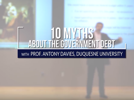 10 Myths About Government Debt