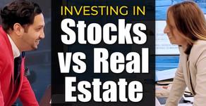 Investing In Stocks vs, Real Estate