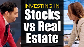 Investing In Stocks vs, Real Estate