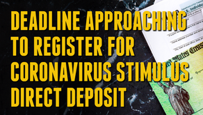 STIMULUS CHECK DEPOSIT: All You Need To Know.