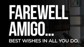 PRESS RELEASE: Hooman's Departure: Farewell Amigo...