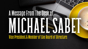 A Message From The Desk Of Michael Sabet