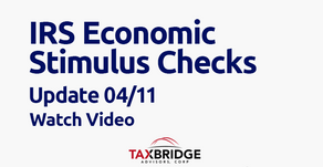 IRS Economic Stimulus Checks Update