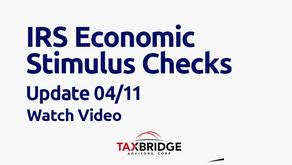 IRS Economic Stimulus Checks Update
