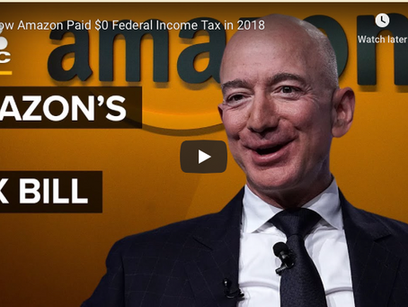 How Amazon Paid $0 Federal Income Tax in 2018