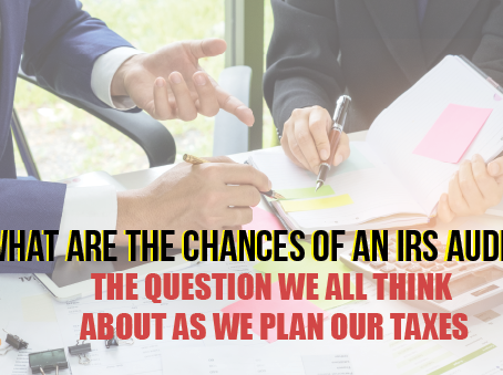 What Are The Chances Of An IRS Audit?
