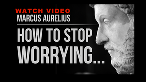 Marcus Aurelius - How To Stop Worrying (Stoicism)