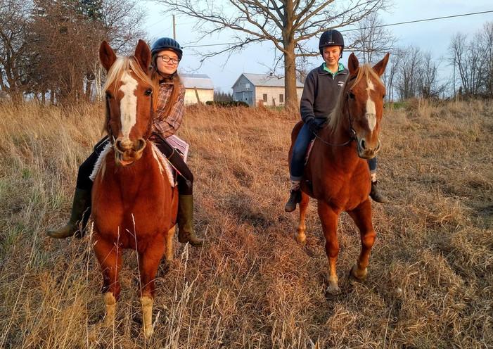 Riding for fun