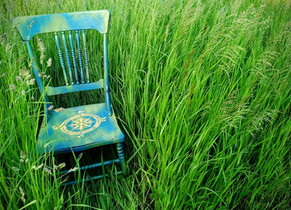 An old chair with a new life