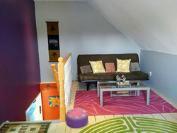 2nd Floor seating & futon
